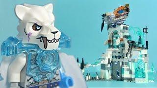 getlinkyoutube.com-LEGO Chima 70147 Sir Fangar's Ice Fortress