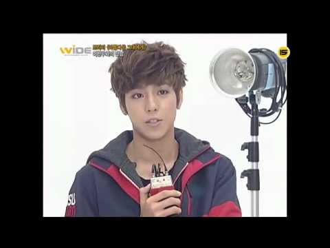 120814 M!Net Wide Entertainment News - Lee Hyunwoo CUT