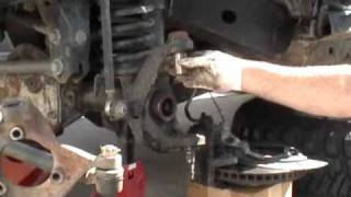getlinkyoutube.com-Jeep JK Ball Joint Installation - Part 1 of 2 Removal