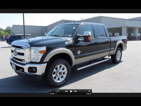 2011 Ford F-250 Lariat Super Duty Powerstroke Start Up, Exha