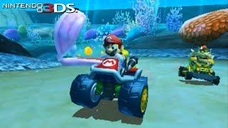 getlinkyoutube.com-Mario Kart 7 - Gameplay Nintendo 3DS Capture Card 60 fps