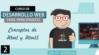 Curso de Desarrollo Web para Principiantes: Cap. 2 - Concepto de HTML y HTML5 (SP Latino HD)