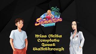 Summertime Saga v 0.15.30 || Miss Okita Complete Quest Walkthrough || 18+