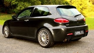 getlinkyoutube.com-Alfa Romeo 147 GTA - Brutal acceleration sound and top speed HD