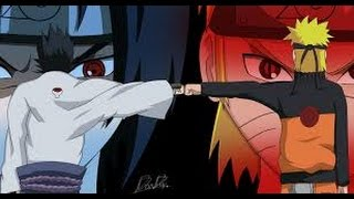 getlinkyoutube.com-Naruto And Sasuke Vs Reibi Amv Leave It All Behind