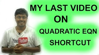 IBPS SO/Payment Banks( Night class Day #41) Quadratic Equation