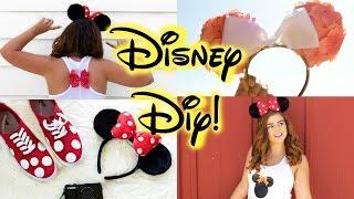 getlinkyoutube.com-DIY Disney Clothes! Cheap & Easy Pinterest Inspired! || Ears, Shirts & Shoes!