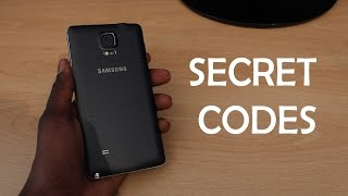 getlinkyoutube.com-Samsung Galaxy Note 4 - SECRET CODES