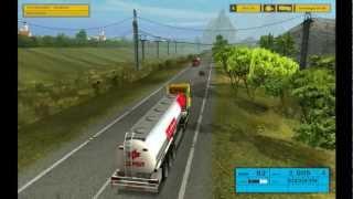 getlinkyoutube.com-Euro Truck Simulator 1.3 H-EU-MAP-IV Edition HD Parte 1