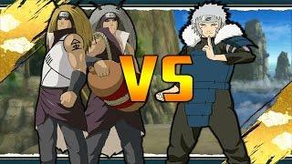 getlinkyoutube.com-Kinkaku and Ginkaku Vs Tobirama | Naruto Shippuden Ultimate Ninja Storm Revolution Mods