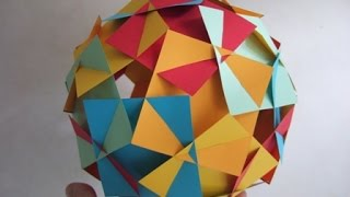 getlinkyoutube.com-sliceform - squares (George Hart) - tutorial - dutchpapergirl
