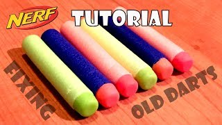 getlinkyoutube.com-[TIP] How to freshen up / fix old broken Nerf darts