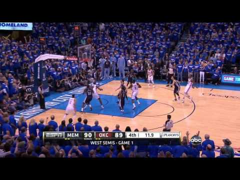 Kevin Durant Hits Big Go-Ahead Bucket In Game 1 Vs. Grizzlies