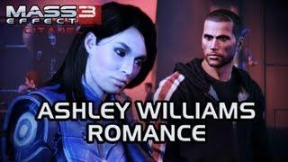 Mass Effect 3 Citadel DLC: Ashley Romance (All scenes)