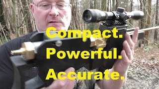 """getlinkyoutube.com-Homemade """"Bullpup Sniper Airbow"""" made from plumbing accessories"""