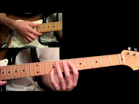 Eric Johnson - Manhattan Guitar Lesson Pt.2 - First B Section