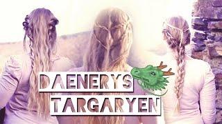 getlinkyoutube.com-Daenerys Hair Tutorial I Hochzeit, Everyday Braid + Dragon Chains Hairstyle I Game of Thrones