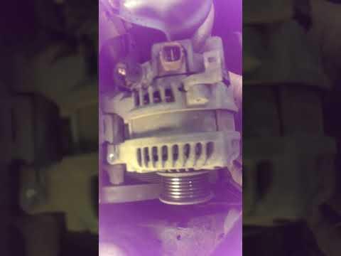 Хонда Аккорд 8 2.0 л, R20A, снятие генератора