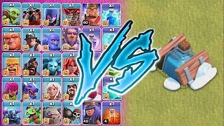 getlinkyoutube.com-ALL TROOPS Vs. FREEZE TRAP!!😀WHO IS FASTER!!🔸Clash of clans troll