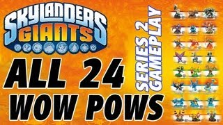getlinkyoutube.com-All 24 Wow Pows for Series 2 in Skylanders Giants (Gameplay Review)) 1080p HD