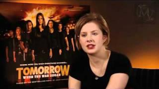 Rachel Hurd-Wood interview (Tomorrow When The War Began UK release) view on youtube.com tube online.