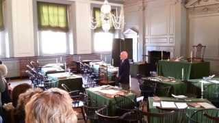 Independence Hall Tour - Philadelphia - Declaration of Independence