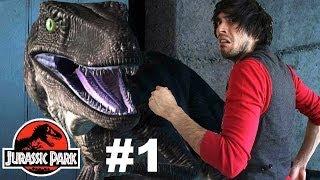 getlinkyoutube.com-DINOSAURIOS | Jurassic Park | Parte 1