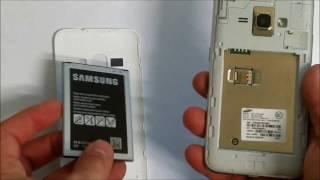 getlinkyoutube.com-How to install SD and SIM card into Samsung Galaxy Express 3