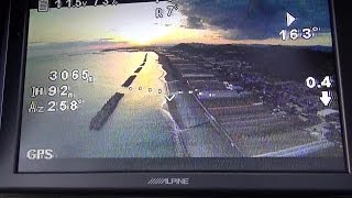 getlinkyoutube.com-DJI phantom2 FPV Flight 3000m