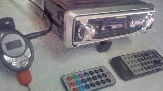 Pioneer Golfinho DEH P 7650 MP c/ USB leitor cartão SD e pen drive