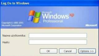 Windows XP - Jak wejść na konto systemowe