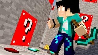 getlinkyoutube.com-Minecraft - LABIRINTO COM LUCKY BLOCK VERMELHO!! #1