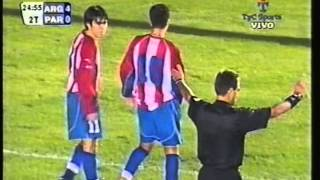 2004 (June 29) Argentina 8-Paraguay 0 (Under-20 Friendly)