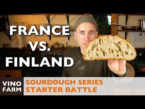 Sourdough Battle - France vs. Finland - Starter Throwdown