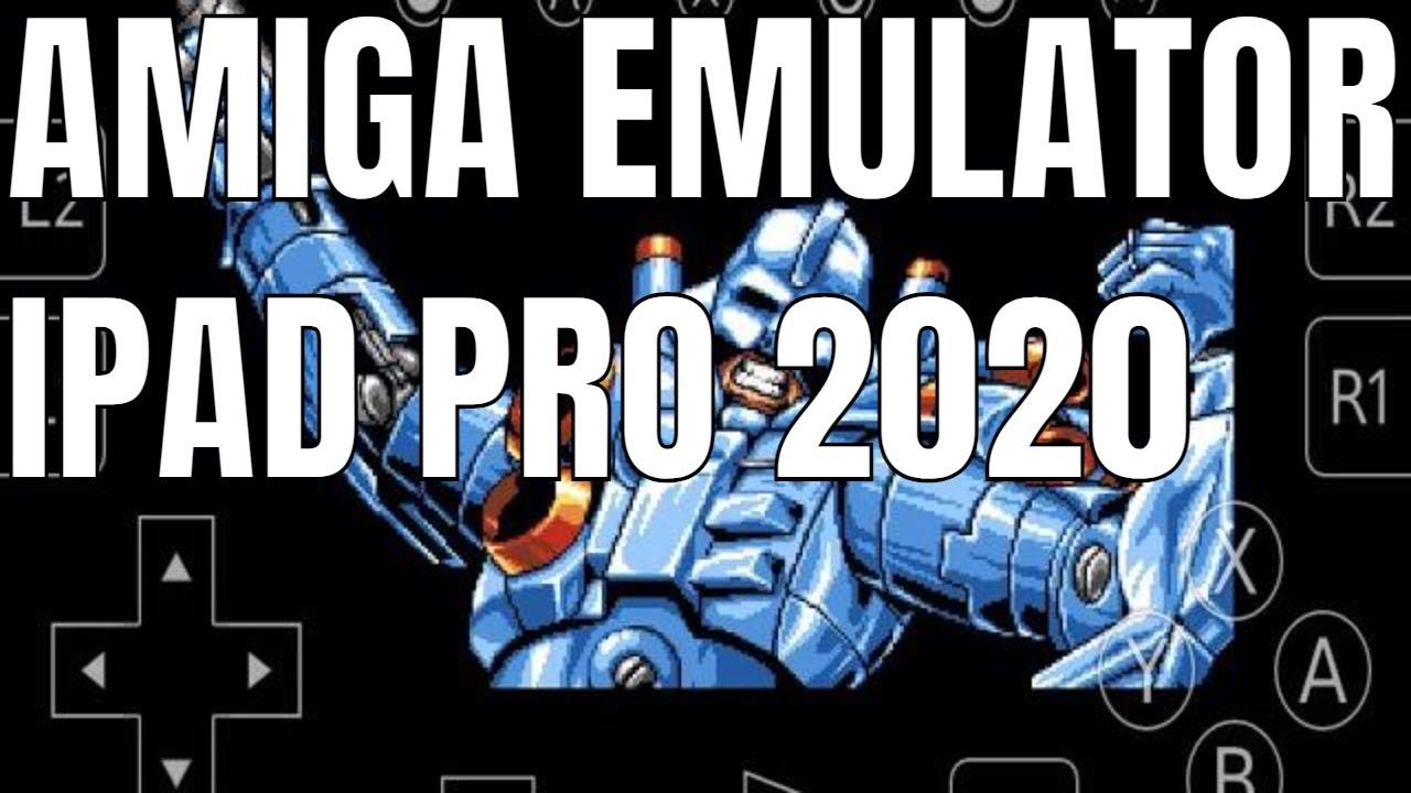 Amiga Emulator on iPAD Pro Turrican 3