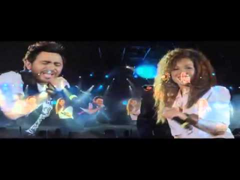 Tamer Hosny FT Aliaa Hosny - Etman 'English subtitled'