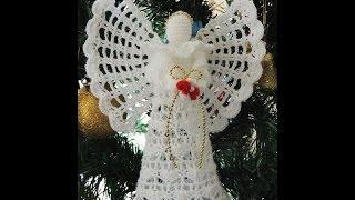 getlinkyoutube.com-Angel en Crochet : Cabeza