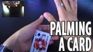 getlinkyoutube.com-Vanishing and Producing a Card -- Tenkai Palm Tutorial