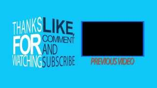 Free Outro Template - After Effects