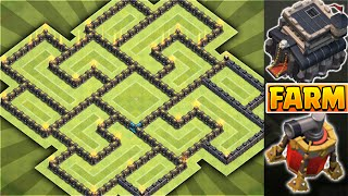 getlinkyoutube.com-Clash of Clans - BEST AIR SWEEPER TOWNHALL 9 (TH9) FARMING BASE!