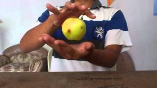 cara sulap apel melayang