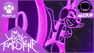 getlinkyoutube.com-MASHUP | The Living Tombstone - Squid Melody [Purple Version REMAKE] (BLUE + RED)
