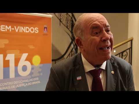 410 Anos - Des Sérgio Luiz Teixeira Gama - Presidente do TJES
