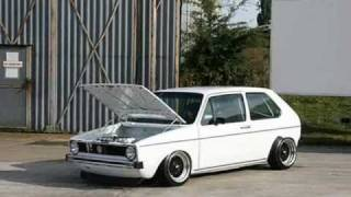 getlinkyoutube.com-mk1 golf on airride 1.8 16v on r1 bike carbs big split rims