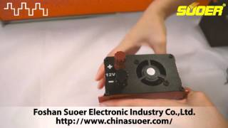 getlinkyoutube.com-Suoer New Power Inverter 1000W with LED real-time display(SDB-1000A)