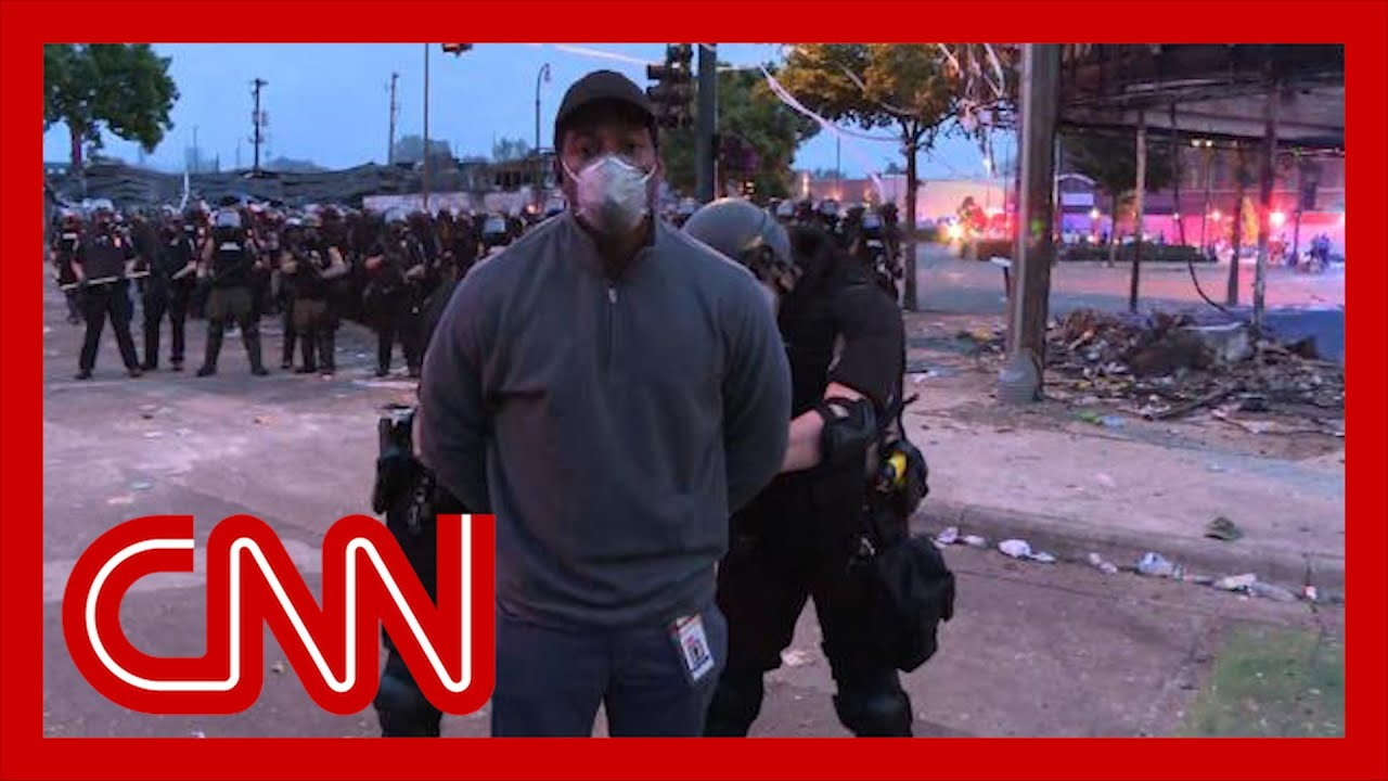 CNN Omar Jimenez Gets Arrested on Live Television
