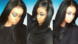 Bish whet??....A synthetic lace FRONTAL wig? | New Born Free- MLF50 | SAMSBEAUTY.COM