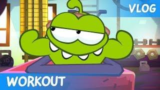 getlinkyoutube.com-Om Nom Stories: Video Blog - Workout