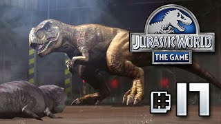 getlinkyoutube.com-The Mighty T.rex! || Jurassic World - The Game - Ep 17 HD