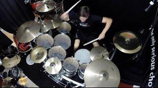 getlinkyoutube.com-Heathens - Drum Cover - twenty one pilots